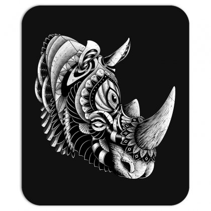 Rhino Ornate Mousepad Designed By Quilimo