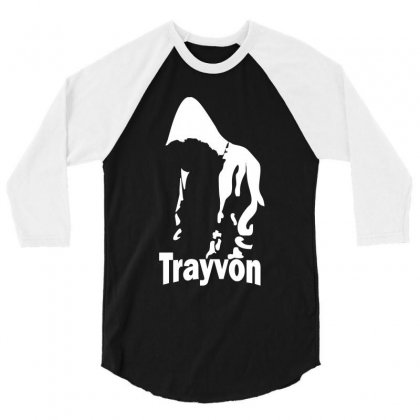 Trayvon Martin 3/4 Sleeve Shirt Designed By Slalomalt