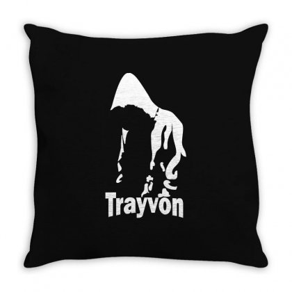 Trayvon Martin Throw Pillow Designed By Slalomalt