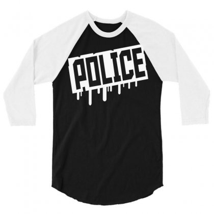 This Is The Police 3/4 Sleeve Shirt Designed By Hardpoi