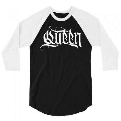 Queen 3/4 Sleeve Shirt Designed By Tiococacola