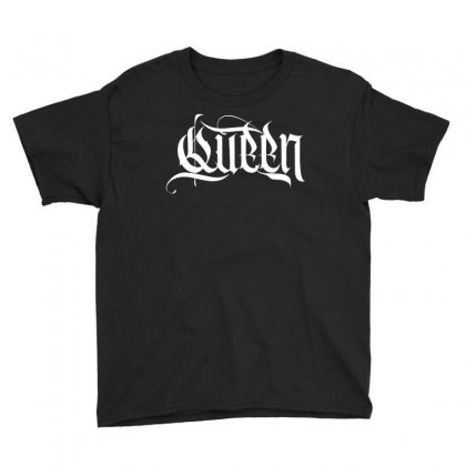Queen Youth Tee Designed By Tiococacola