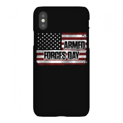 Armed Forces Day T Shirt Iphonex Case Designed By Hung