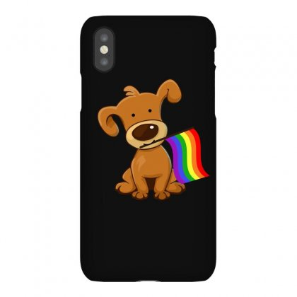 Funny Lgbt Dog Flag T Shirt Iphonex Case Designed By Hung
