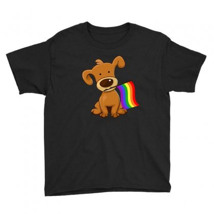 Funny Lgbt Dog Flag T Shirt Youth Tee Designed By Hung