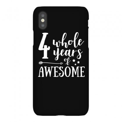Four Whole Years Of Awesome T Shirt Iphonex Case Designed By Hung