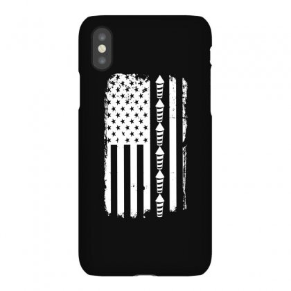 Firework Flag   Independence Day Tshirt Iphonex Case Designed By Hung