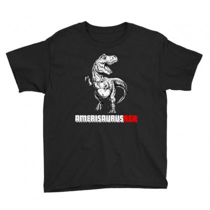 Dinosaur 4th Of July Amerisaurusrex T Shirt Youth Tee Designed By Hung