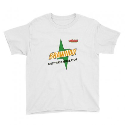 Brawndo   The Thirst Mutilator Youth Tee Designed By Fejena