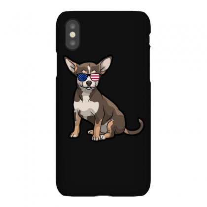 Chihuahua Independence Day T Shirt Iphonex Case Designed By Hung