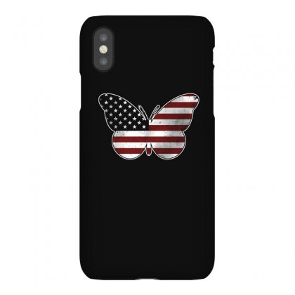 Butterfly Independence Day T Shirt Iphonex Case Designed By Hung