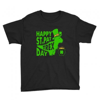 Happy Green Youth Tee Designed By Frizidan