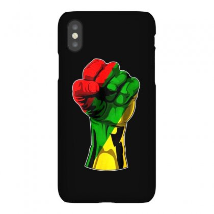 Hand Strong Iphonex Case Designed By Frizidan