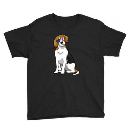 Beagle Independence Day T Shirt Youth Tee Designed By Hung