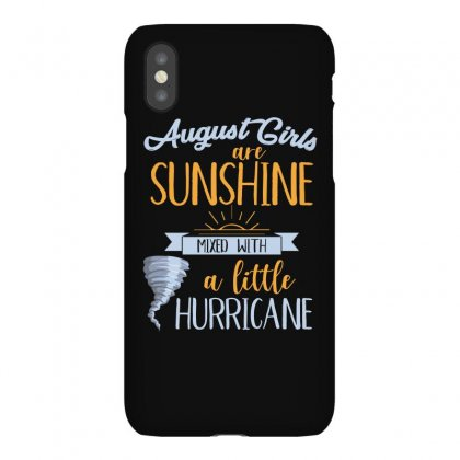 August Girls Are Sunshine T Shirt Iphonex Case Designed By Hung