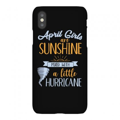 April Girls Are Sunshine T Shirt Iphonex Case Designed By Hung