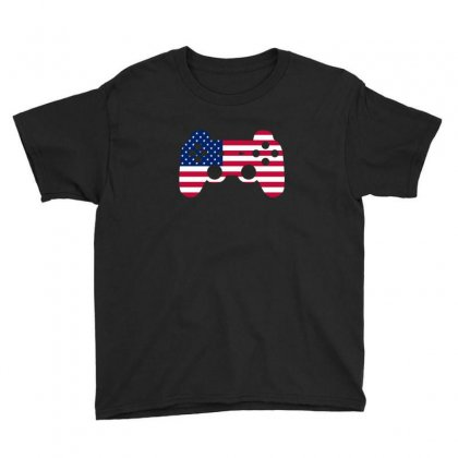 4th Of July Video Game T Shirt Youth Tee Designed By Hung