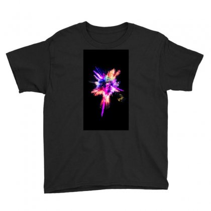 Abstract Youth Tee Designed By Harry