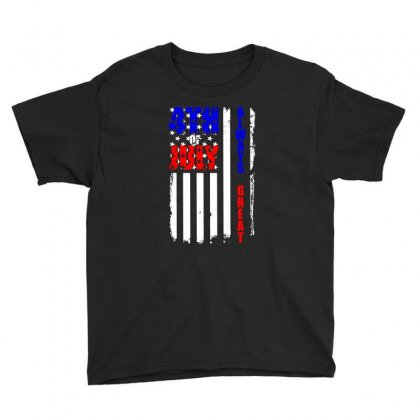 4th Of July Always Great T Shirt Youth Tee Designed By Hung