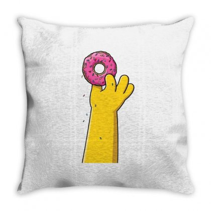 Donnut Lover Throw Pillow Designed By Fejena