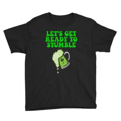 Lets Get Ready To Stumble T Shirt Youth Tee Designed By Hung