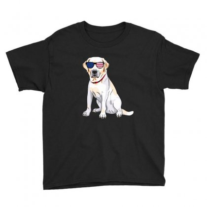 Labrador Independence Day T Shirt Youth Tee Designed By Hung