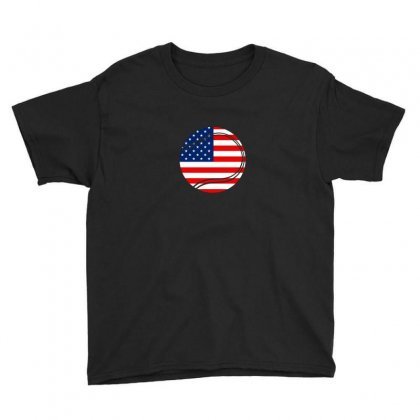 Independence Day Tennis T Shirt Youth Tee Designed By Hung