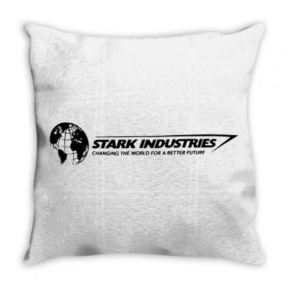 Iron Man Stark Industries Expo Throw Pillow Designed By Frizidan
