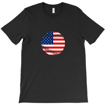 Independence Day Baseball T Shirt T-shirt Designed By Hung