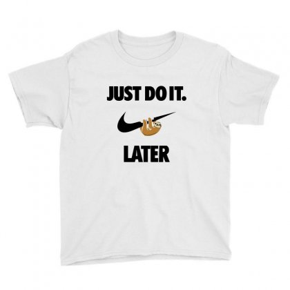 Do It Sloth Youth Tee Designed By Fejena
