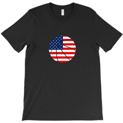 Independence Day Basketball T Shirt T-shirt Designed By Hung