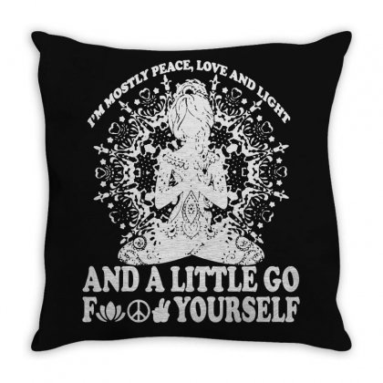 Light Of Love Throw Pillow Designed By Frizidan