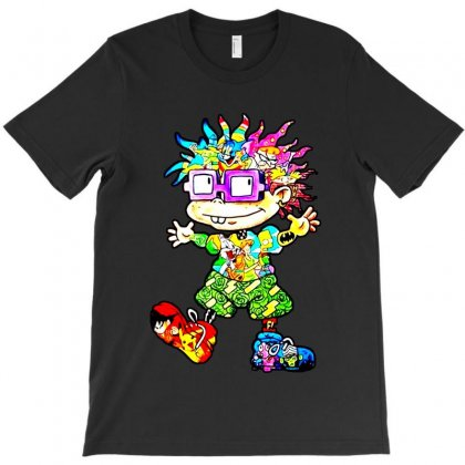 Lovely Cartoon T-shirt Designed By Frizidan