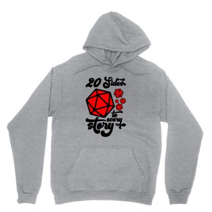 20 Sides To Every Story For Light Unisex Hoodie