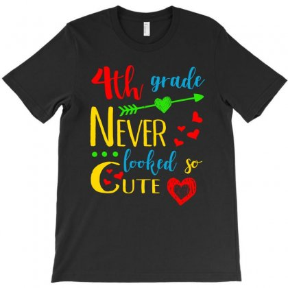 4th Grade Never Looked So Cute T Shirt T-shirt Designed By Hung