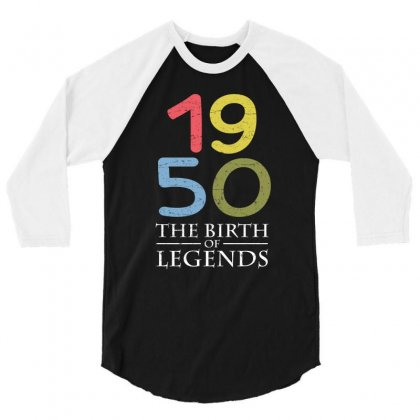 1950 The Birth Of Legends T Shirt 3/4 Sleeve Shirt Designed By Hung