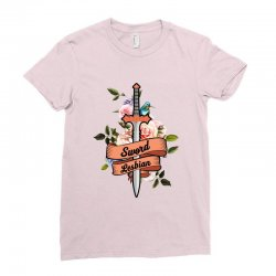 sword lesbian for light Ladies Fitted T-Shirt | Artistshot