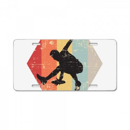 Ultimate Frisbee Catch License Plate