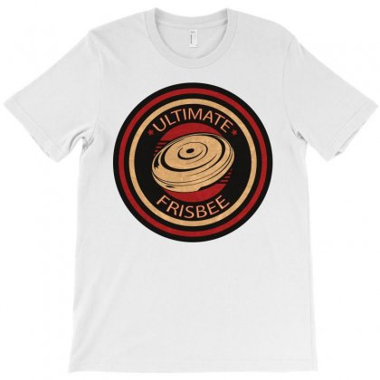 Ultimate Frisbee Vintage T-shirt Designed By Ctshirts