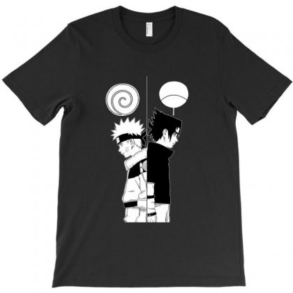 Naruto And Friend T-shirt Designed By Fejena