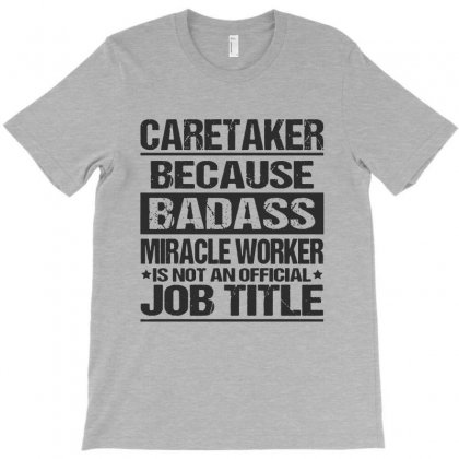 Awesome Tee For Caretaker T-shirt Designed By Pinkanzee