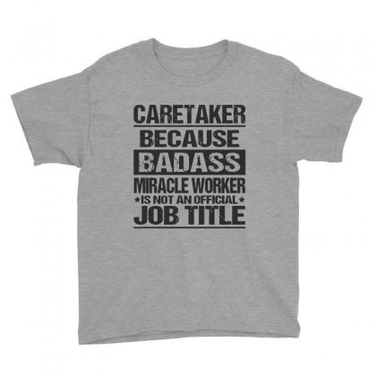 Awesome Tee For Caretaker Youth Tee Designed By Pinkanzee