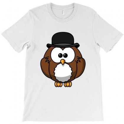 Owl And Pet T-shirt Designed By Fejena