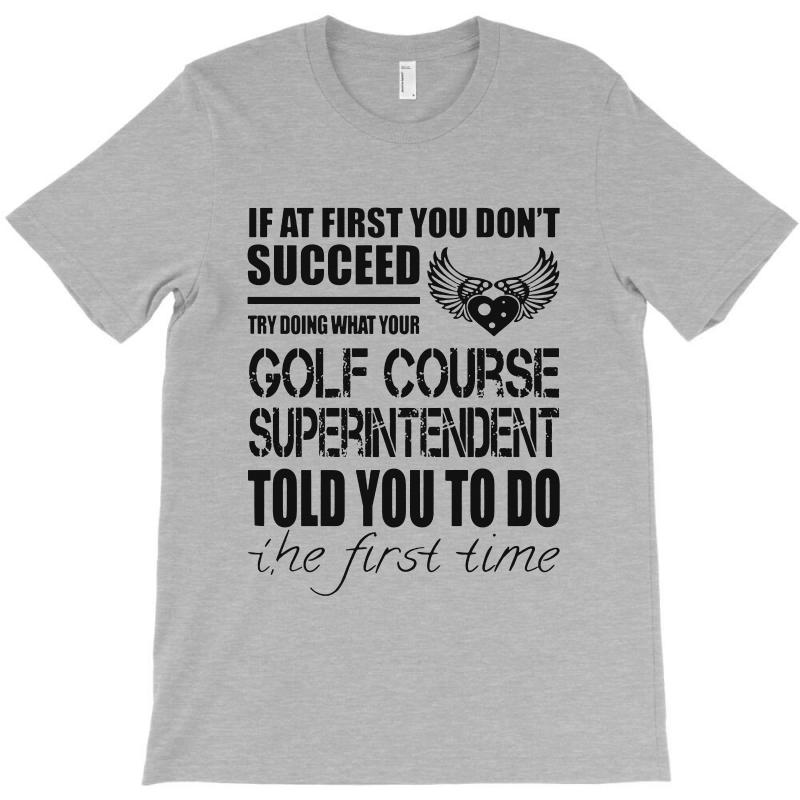 6600b06336 Custom Awesome Tee For Golf Course T-shirt By Pinkanzee - Artistshot