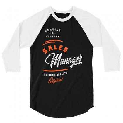 Sales Manager 3/4 Sleeve Shirt Designed By Cidolopez