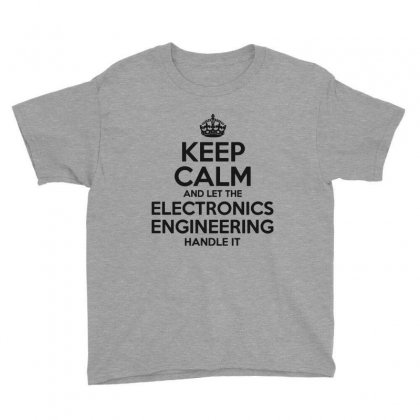 Electronics Engineering Youth Tee Designed By Pinkanzee