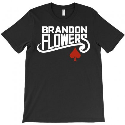 Brandon Flowers T-shirt Designed By Silicaexil