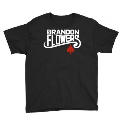 Brandon Flowers Youth Tee Designed By Silicaexil