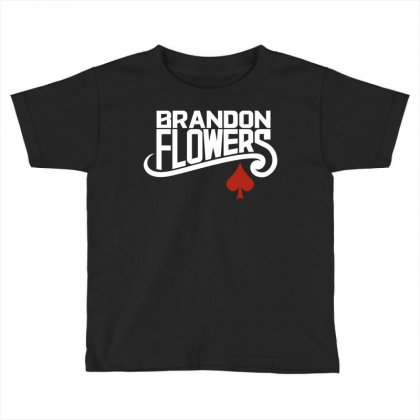 Brandon Flowers Toddler T-shirt Designed By Silicaexil