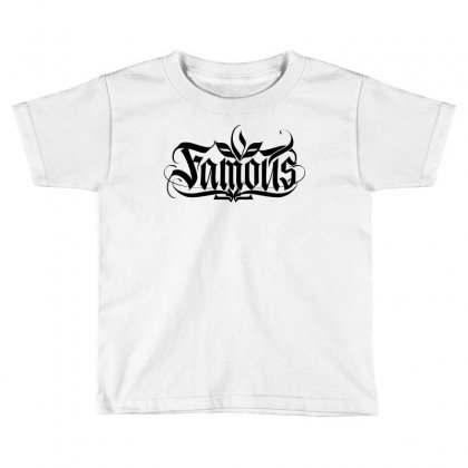 Famous Toddler T-shirt Designed By Tiococacola
